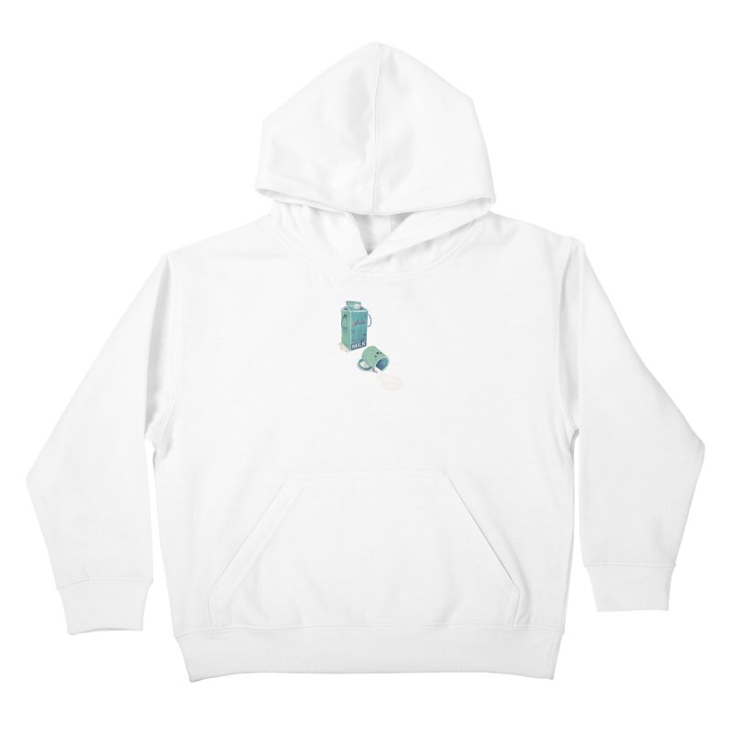 Don't cry for milk Kids Pullover Hoody by jackduarte's Artist Shop