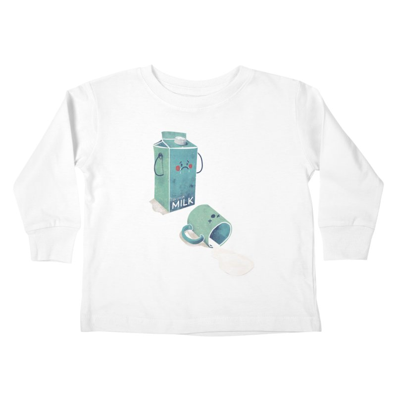 Don't cry for milk Kids Toddler Longsleeve T-Shirt by jackduarte's Artist Shop