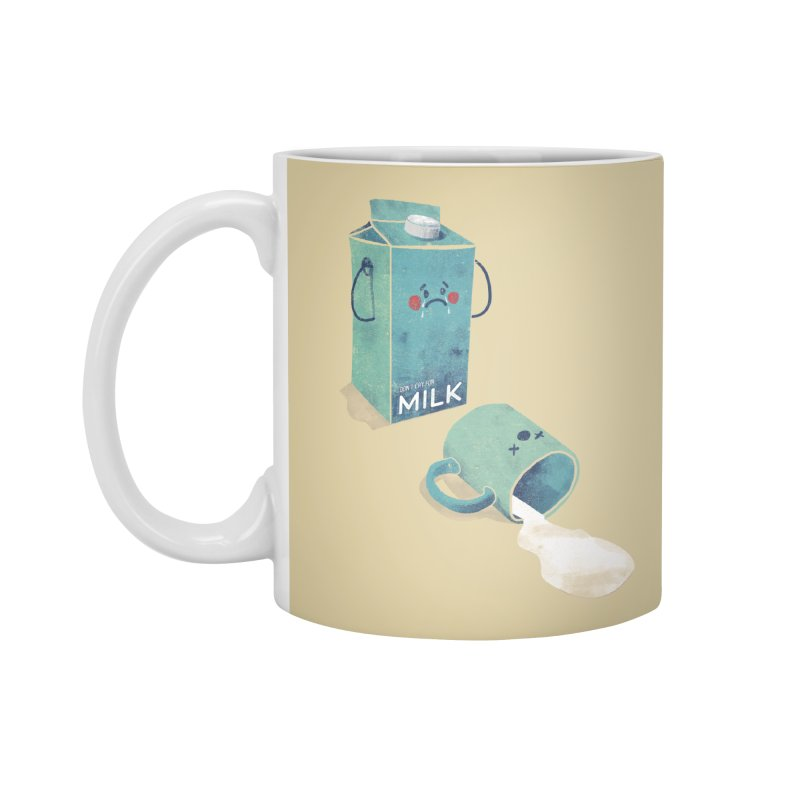Don't cry for milk Accessories Mug by jackduarte's Artist Shop