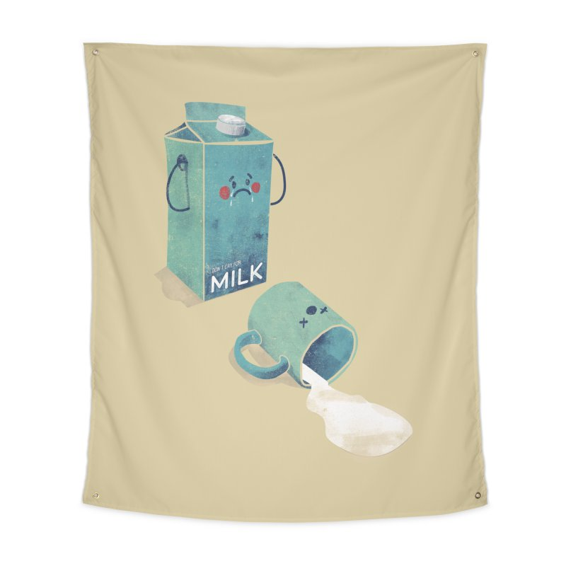 Don't cry for milk Home Tapestry by jackduarte's Artist Shop