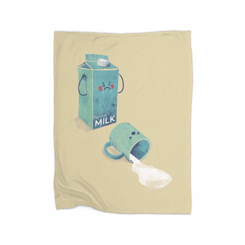 Don't cry for milk Home Blanket by jackduarte's Artist Shop
