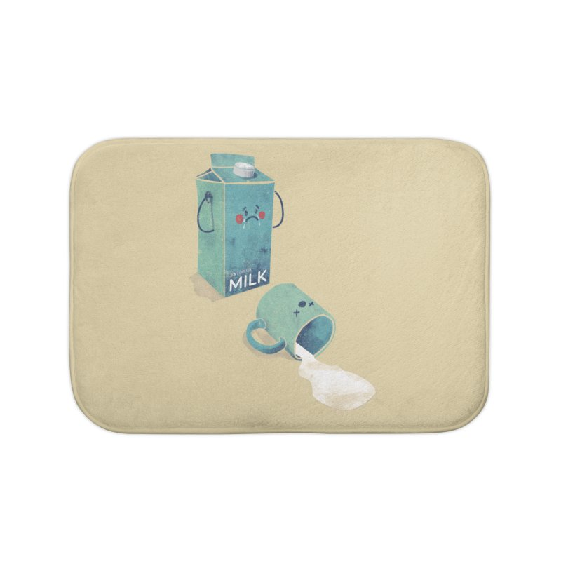 Don't cry for milk Home Bath Mat by jackduarte's Artist Shop