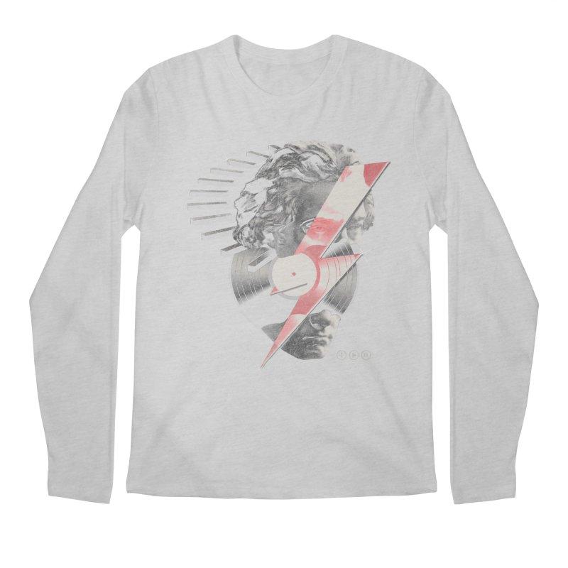All music Men's Regular Longsleeve T-Shirt by jackduarte's Artist Shop