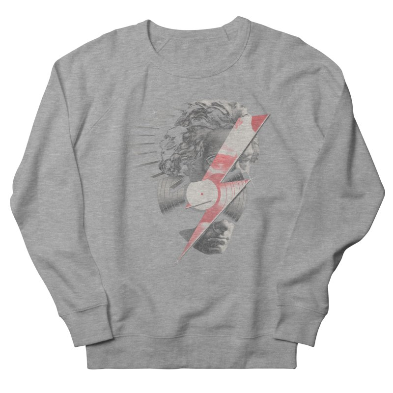 All music Women's French Terry Sweatshirt by jackduarte's Artist Shop