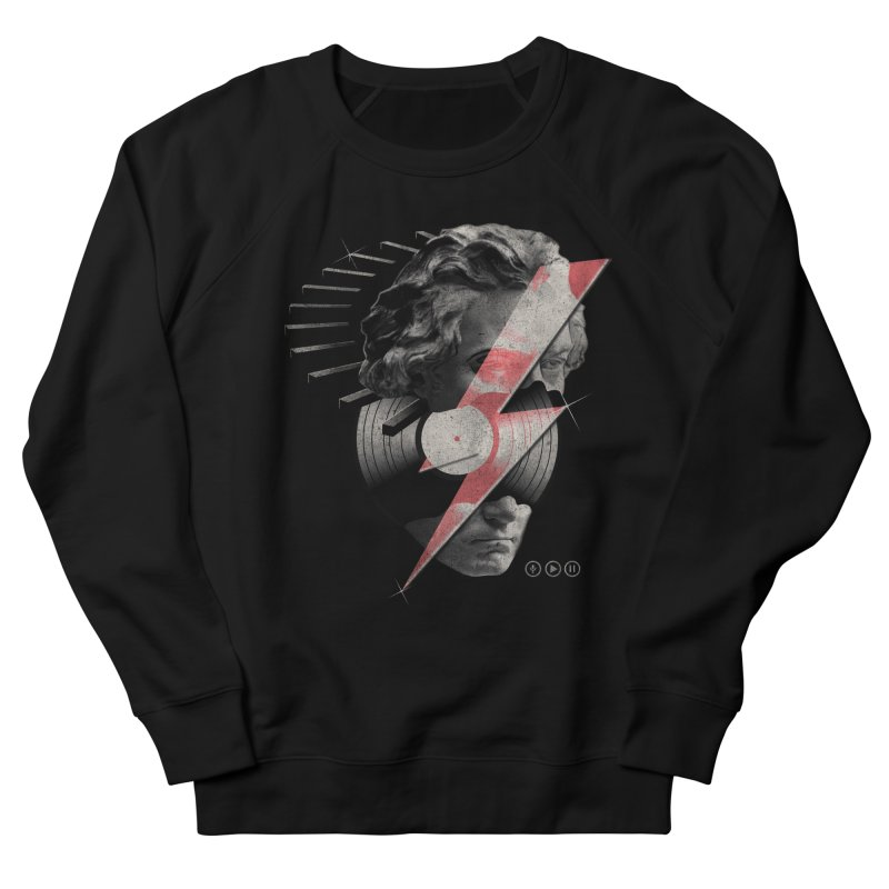 All music Men's French Terry Sweatshirt by jackduarte's Artist Shop
