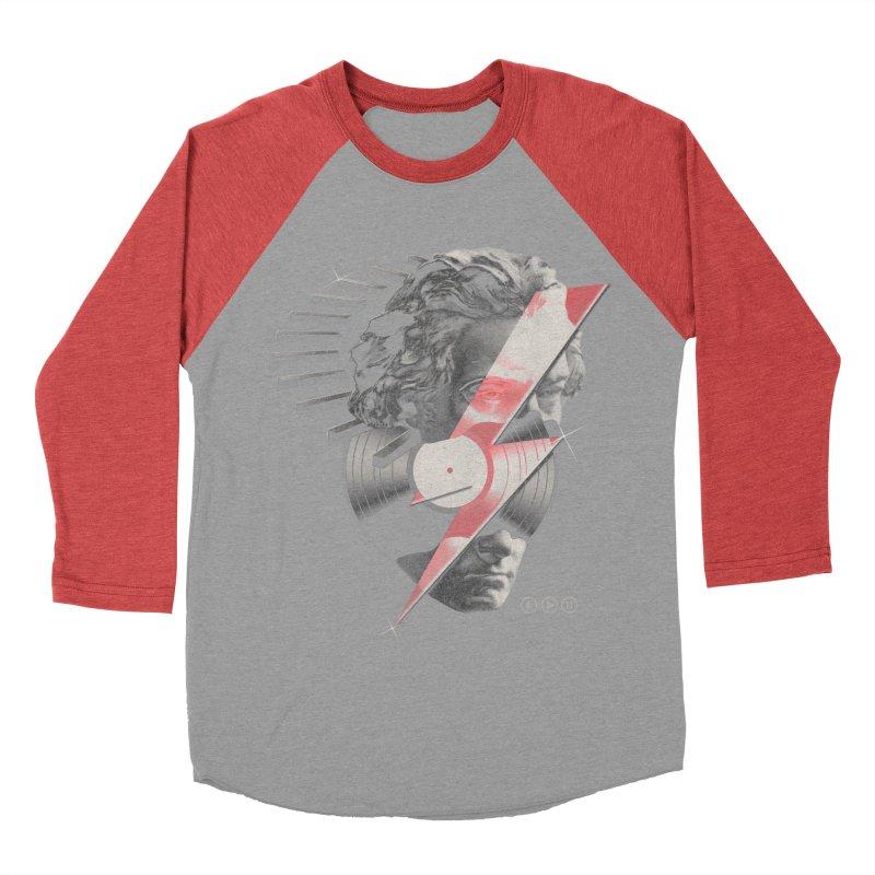 All music Men's Baseball Triblend T-Shirt by jackduarte's Artist Shop