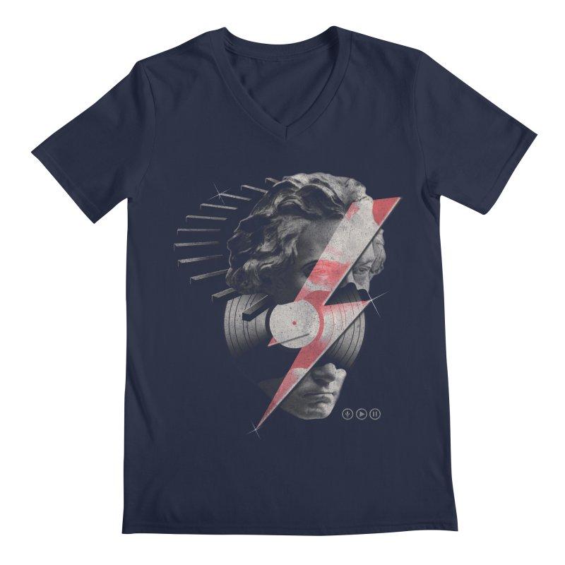 All music Men's V-Neck by jackduarte's Artist Shop