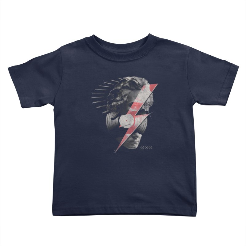 All music Kids Toddler T-Shirt by jackduarte's Artist Shop