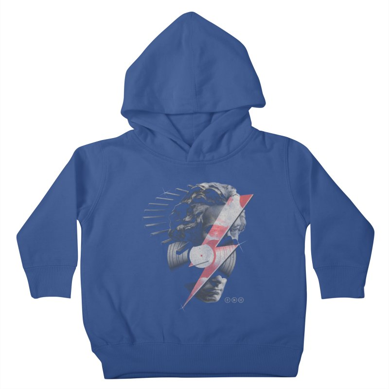 All music Kids Toddler Pullover Hoody by jackduarte's Artist Shop