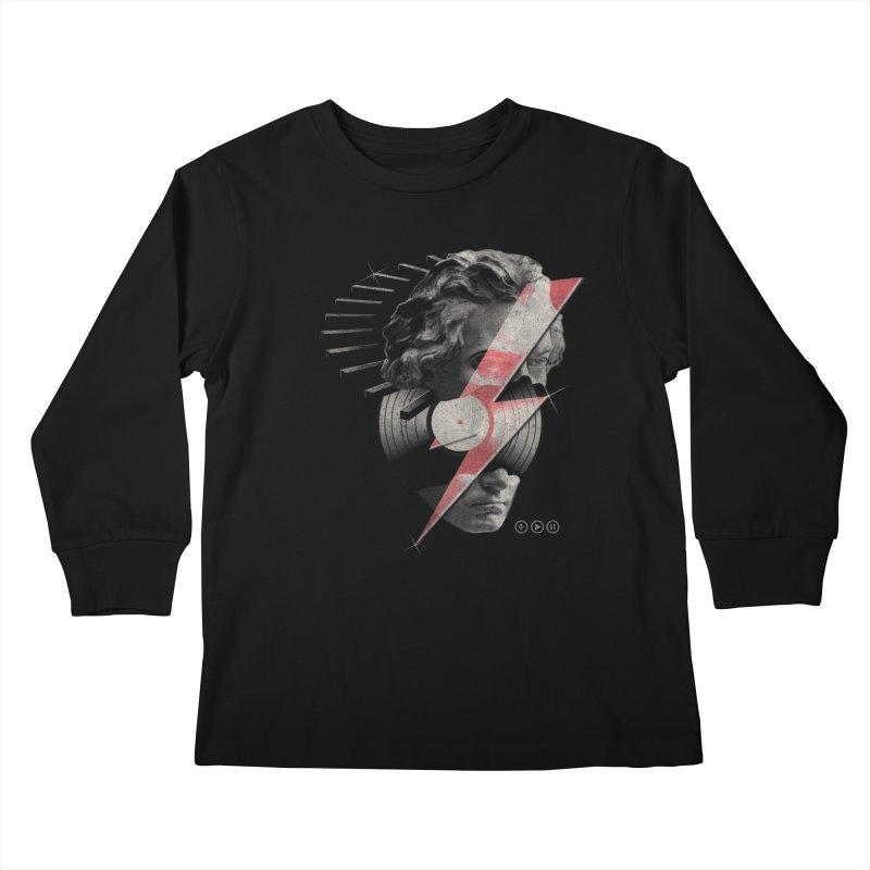 All music Kids Longsleeve T-Shirt by jackduarte's Artist Shop