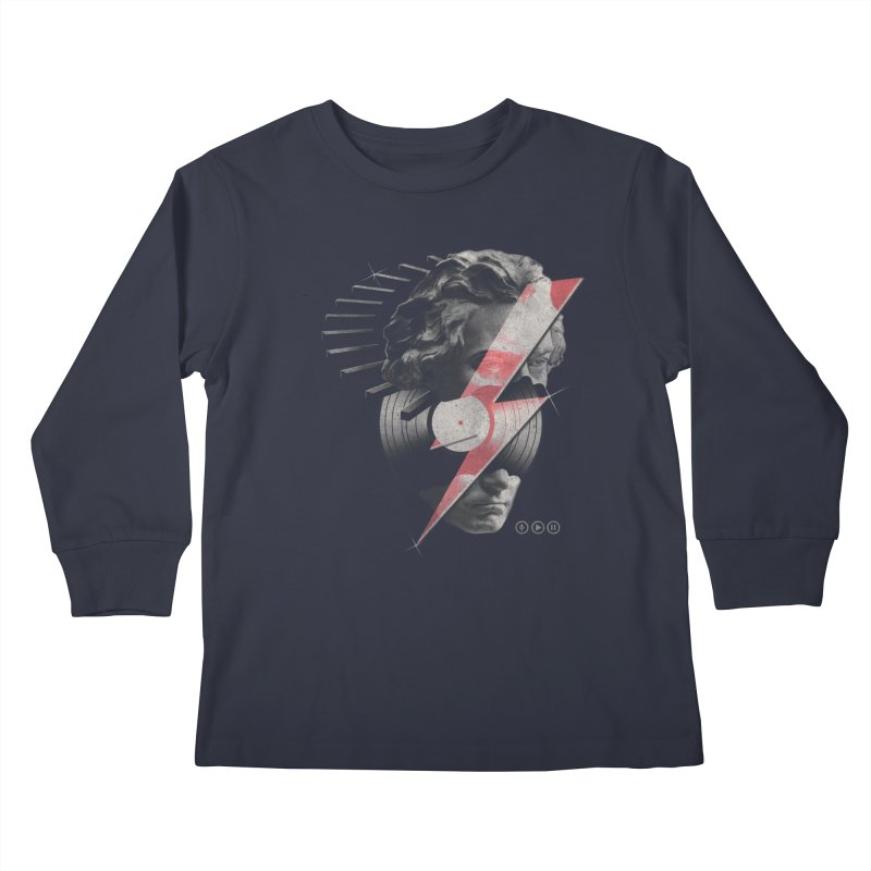All music Kids Longsleeve T-Shirt by jackduarte's Artist Shop