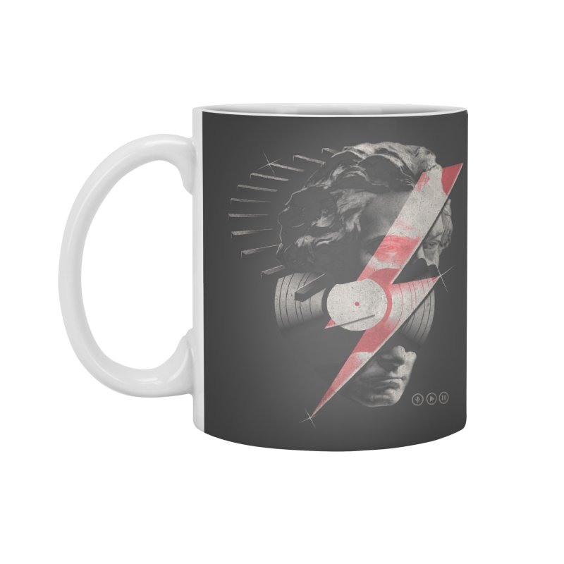 All music Accessories Standard Mug by jackduarte's Artist Shop