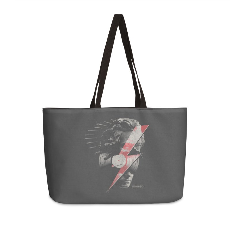 All music Accessories Weekender Bag Bag by jackduarte's Artist Shop