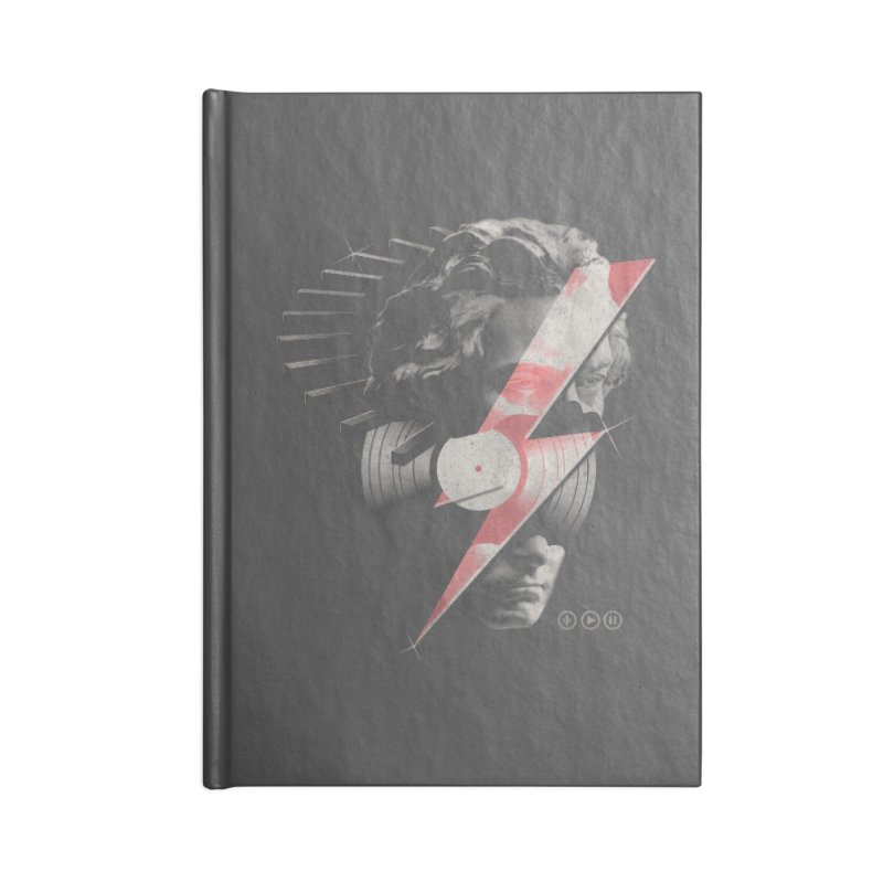 All music Accessories Notebook by jackduarte's Artist Shop