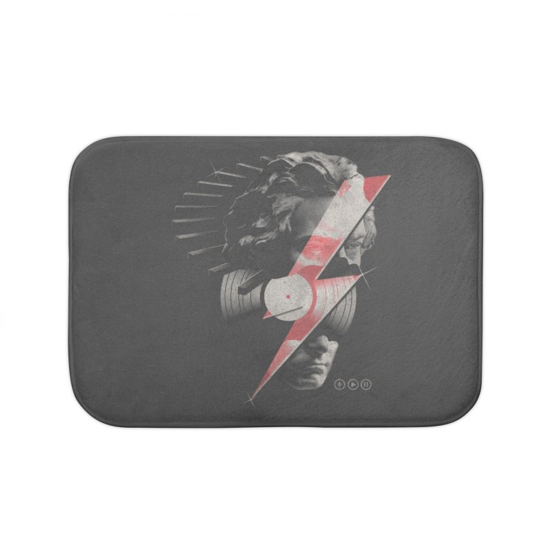 All music Home Bath Mat by jackduarte's Artist Shop