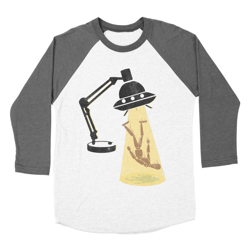 Little Abduction Men's Baseball Triblend T-Shirt by jackduarte's Artist Shop