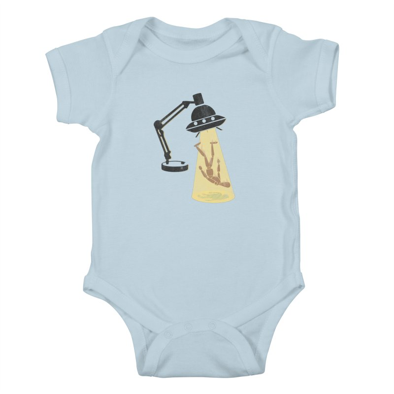 Little Abduction Kids Baby Bodysuit by jackduarte's Artist Shop