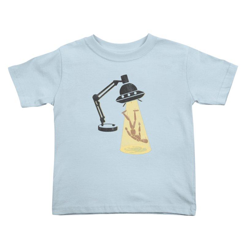 Little Abduction Kids Toddler T-Shirt by jackduarte's Artist Shop