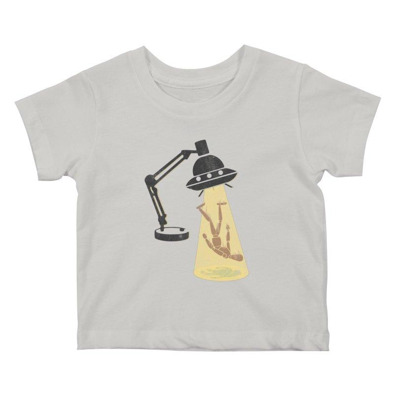 Little Abduction Kids Baby T-Shirt by jackduarte's Artist Shop