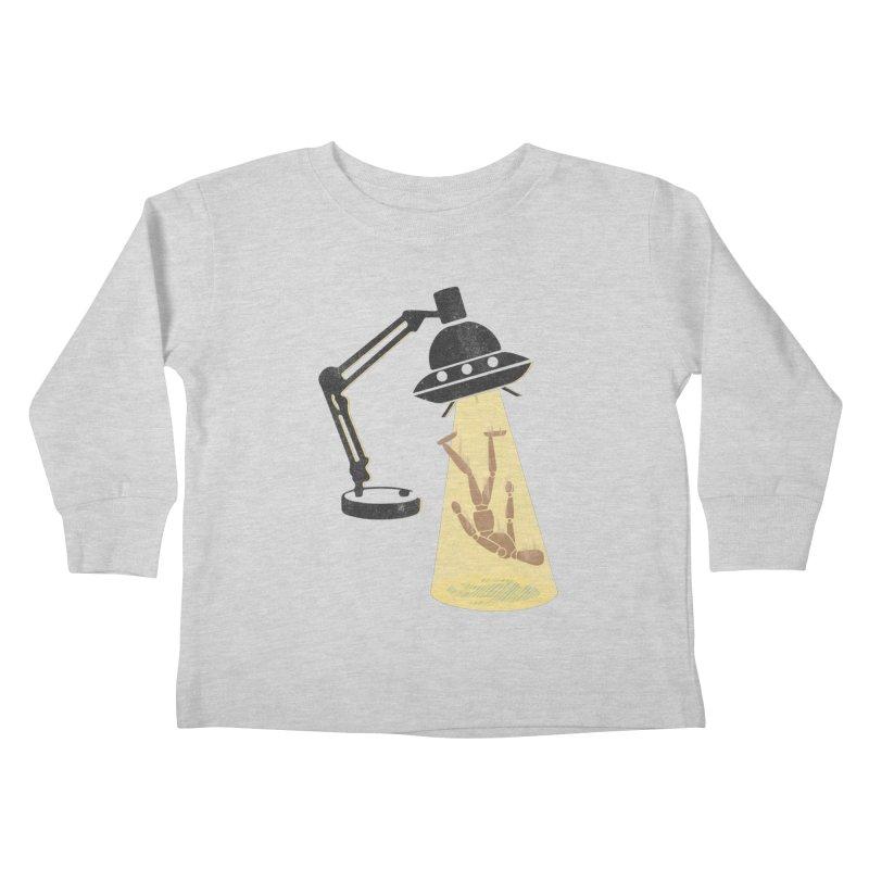Little Abduction Kids Toddler Longsleeve T-Shirt by jackduarte's Artist Shop
