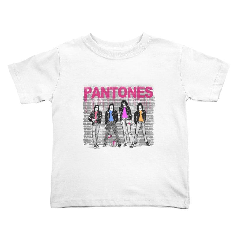 Pantones Kids Toddler T-Shirt by jackduarte's Artist Shop