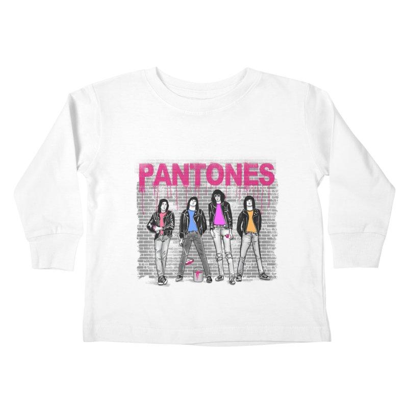 Pantones Kids Toddler Longsleeve T-Shirt by jackduarte's Artist Shop