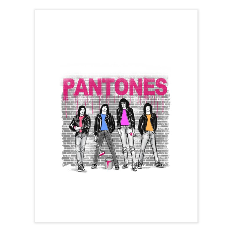 Pantones Home Fine Art Print by jackduarte's Artist Shop