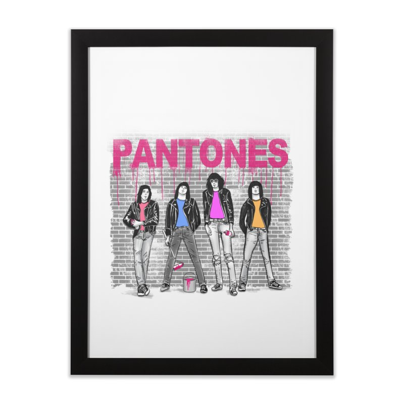 Pantones Home Framed Fine Art Print by jackduarte's Artist Shop