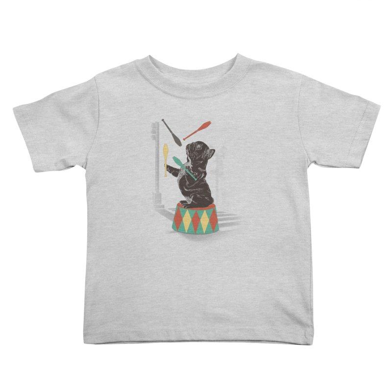 Street dog Kids Toddler T-Shirt by jackduarte's Artist Shop