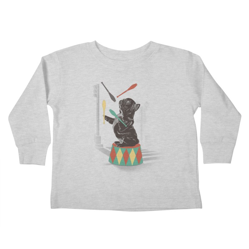 Street dog Kids Toddler Longsleeve T-Shirt by jackduarte's Artist Shop