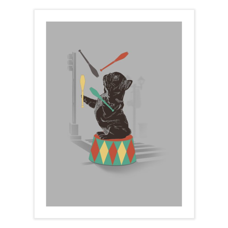 Street dog Home Fine Art Print by jackduarte's Artist Shop