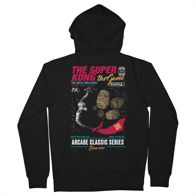 The game Women's French Terry Zip-Up Hoody by jackduarte's Artist Shop
