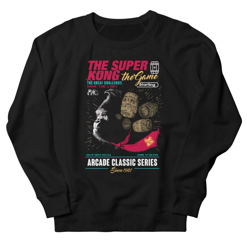 The game Women's French Terry Sweatshirt by jackduarte's Artist Shop