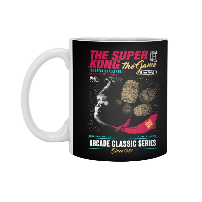 The game Accessories Standard Mug by jackduarte's Artist Shop