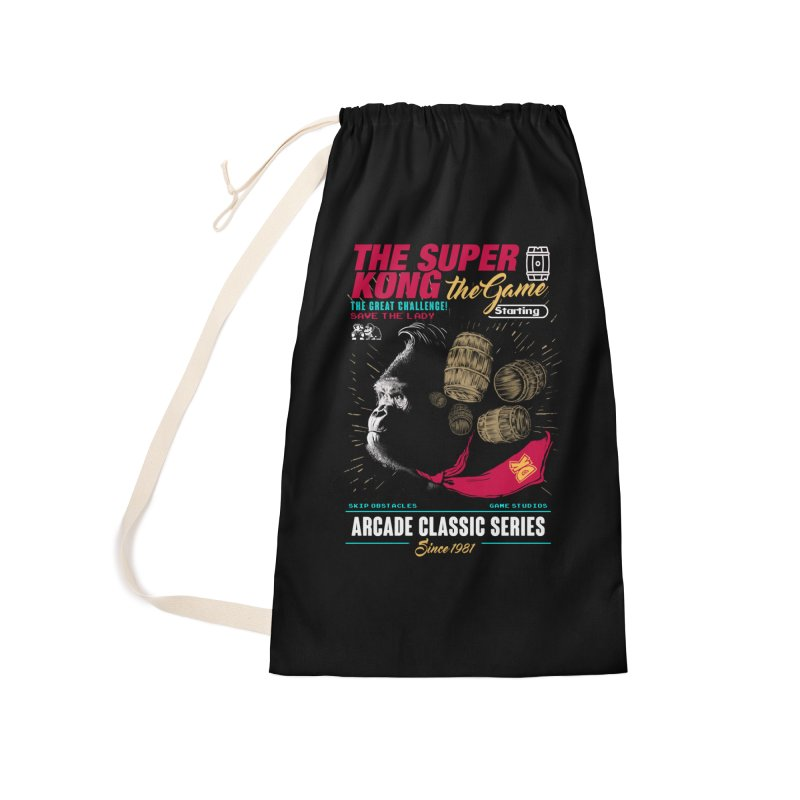 The game Accessories Laundry Bag Bag by jackduarte's Artist Shop