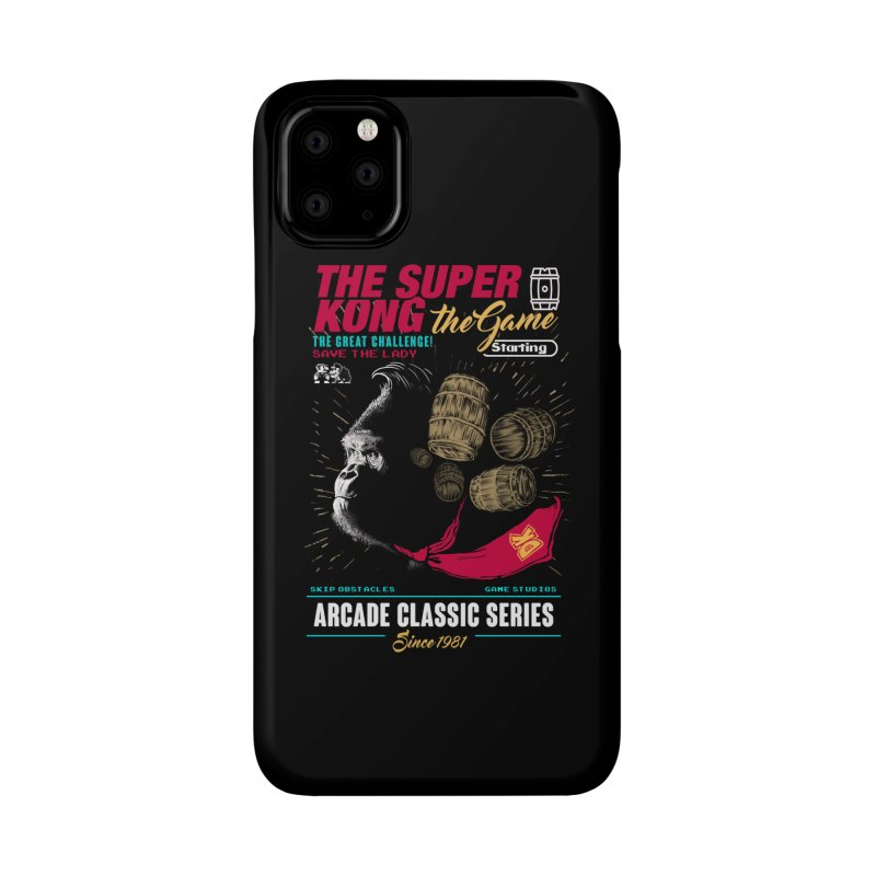 The game Accessories Phone Case by jackduarte's Artist Shop