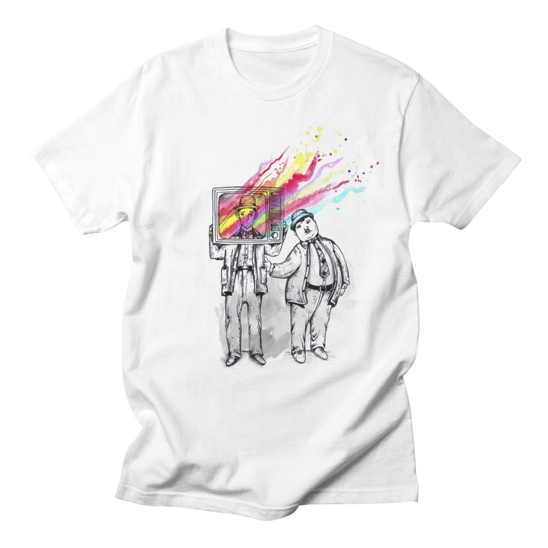 Colors beyond Men's T-shirt by jackduarte's Artist Shop