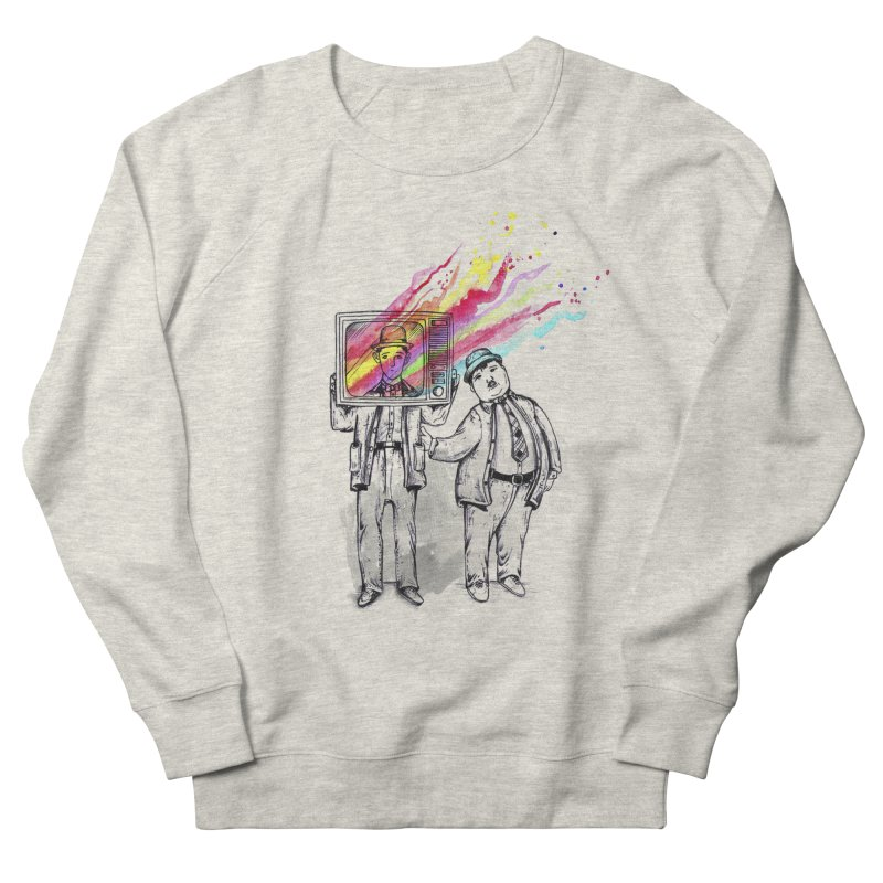 Colors beyond Women's French Terry Sweatshirt by jackduarte's Artist Shop