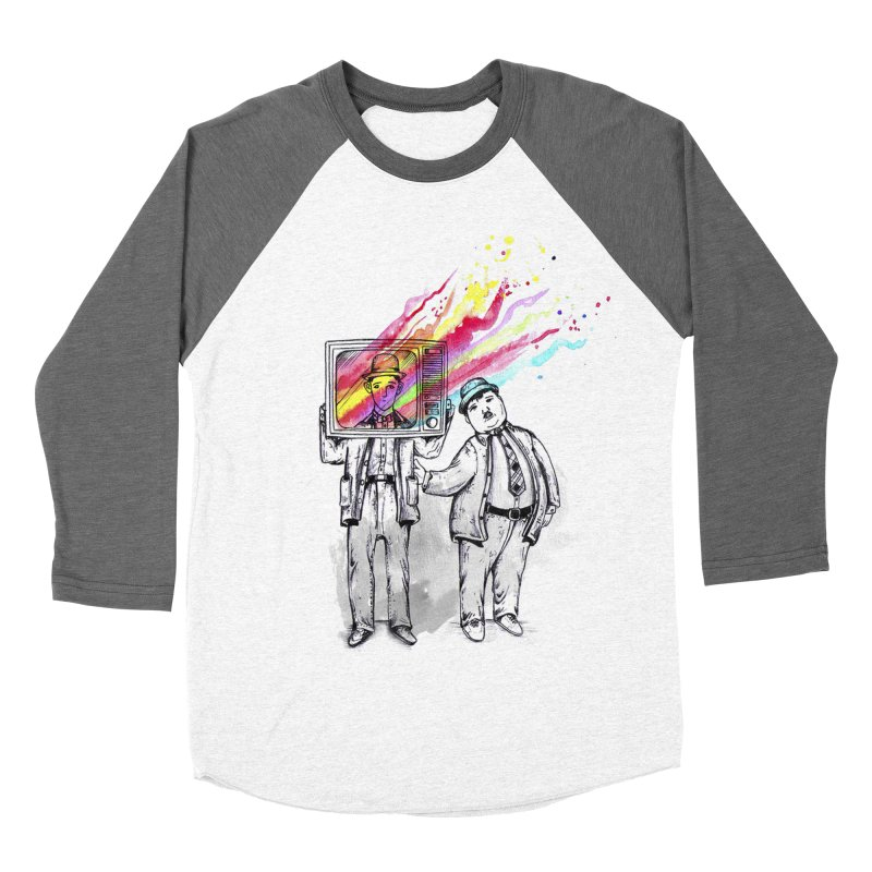 Colors beyond Women's Baseball Triblend Longsleeve T-Shirt by jackduarte's Artist Shop