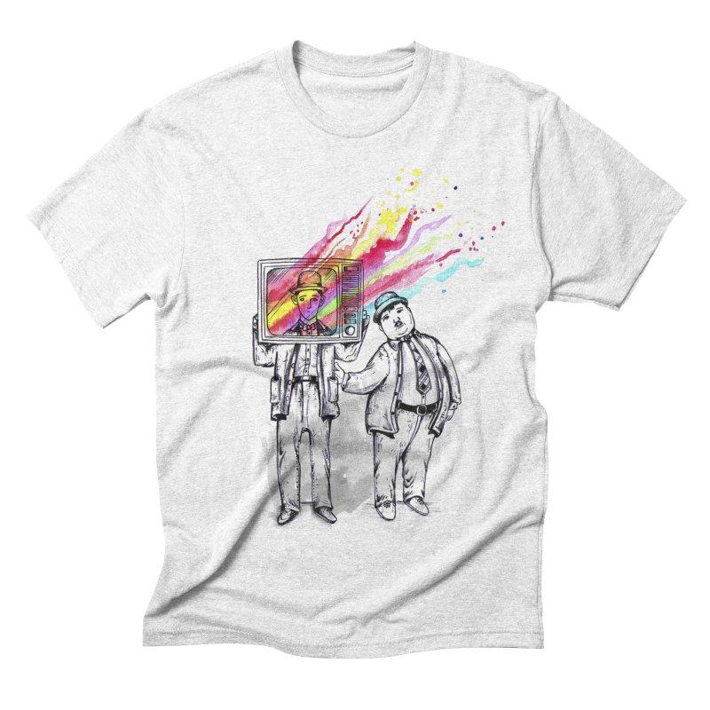 Colors beyond Men's Triblend T-shirt by jackduarte's Artist Shop