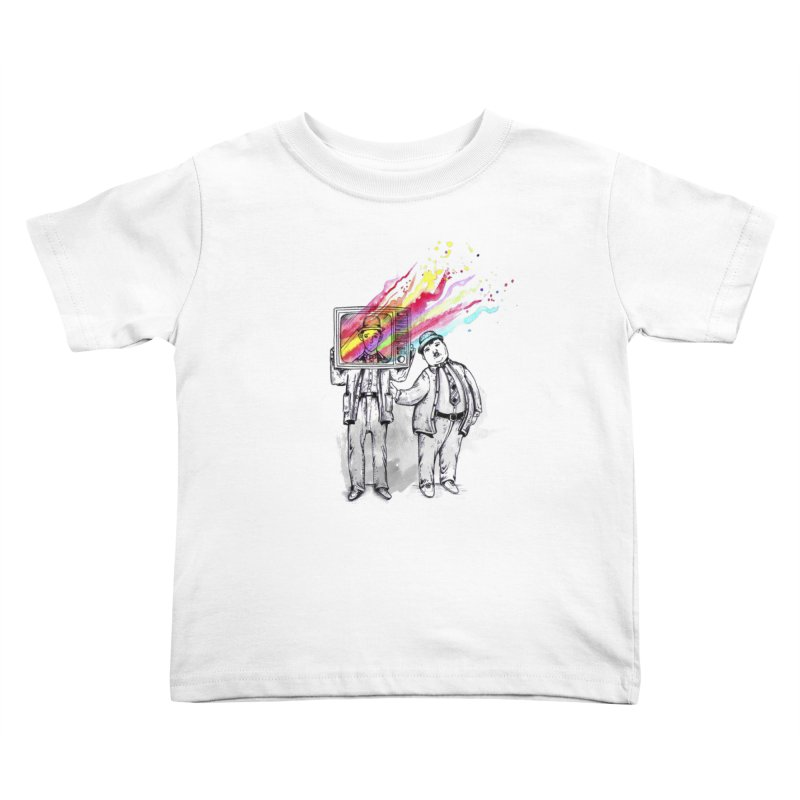 Colors beyond Kids Toddler T-Shirt by jackduarte's Artist Shop