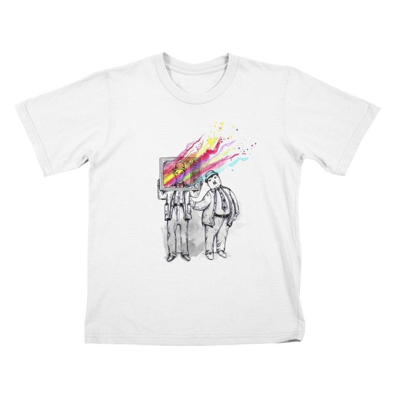 Colors beyond Kids T-shirt by jackduarte's Artist Shop