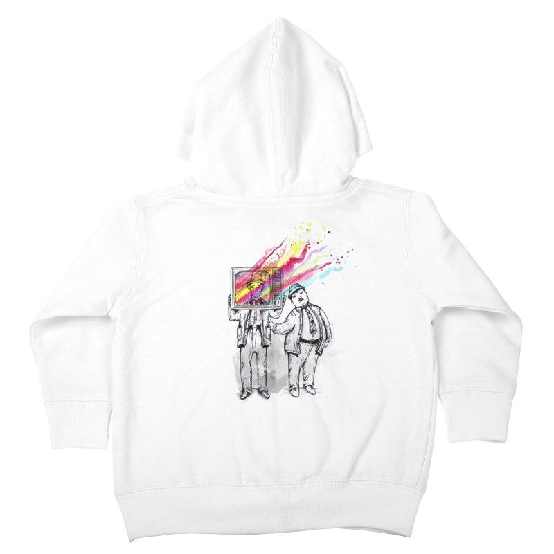 Colors beyond Kids Toddler Zip-Up Hoody by jackduarte's Artist Shop