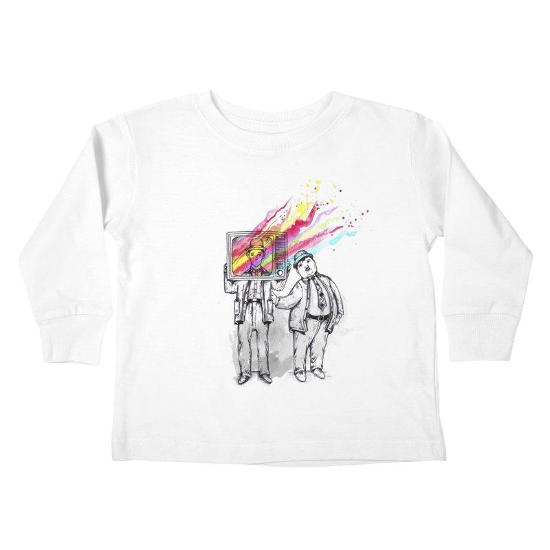 Colors beyond Kids Toddler Longsleeve T-Shirt by jackduarte's Artist Shop