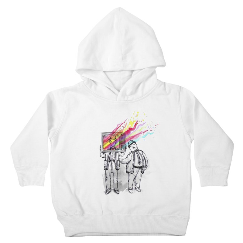 Colors beyond Kids Toddler Pullover Hoody by jackduarte's Artist Shop