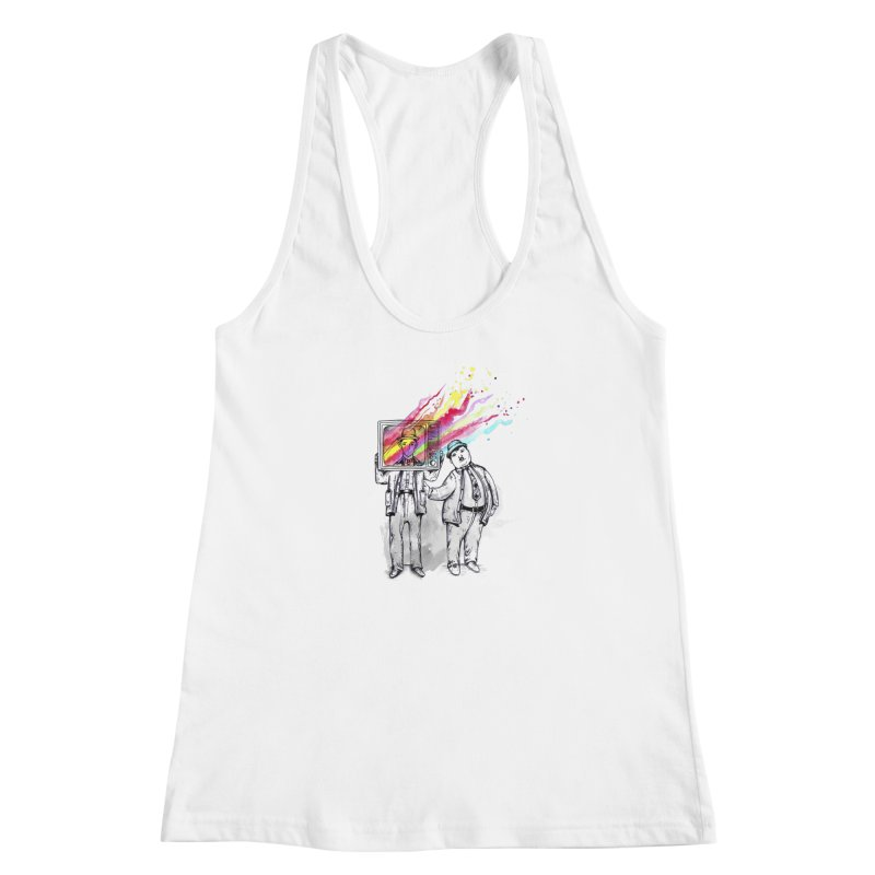 Colors beyond Women's Racerback Tank by jackduarte's Artist Shop