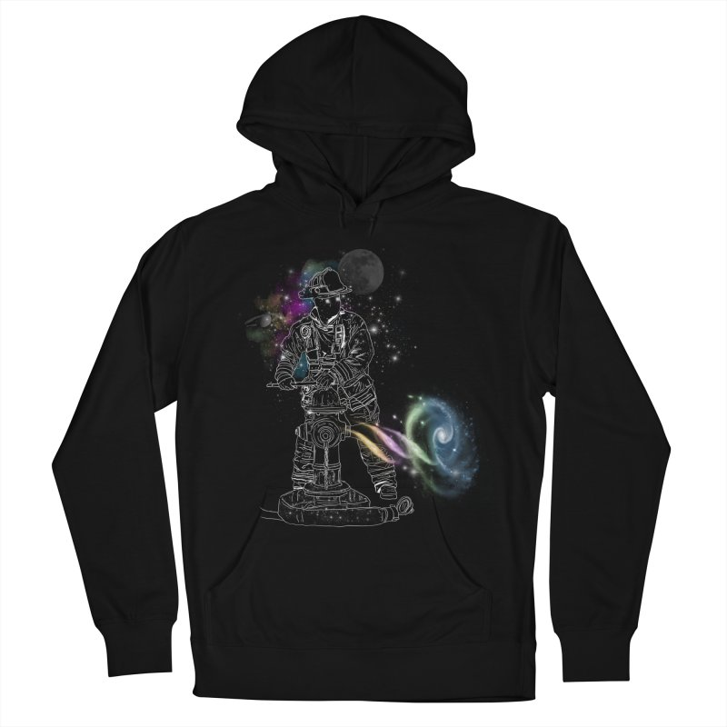 Space man Women's French Terry Pullover Hoody by jackduarte's Artist Shop