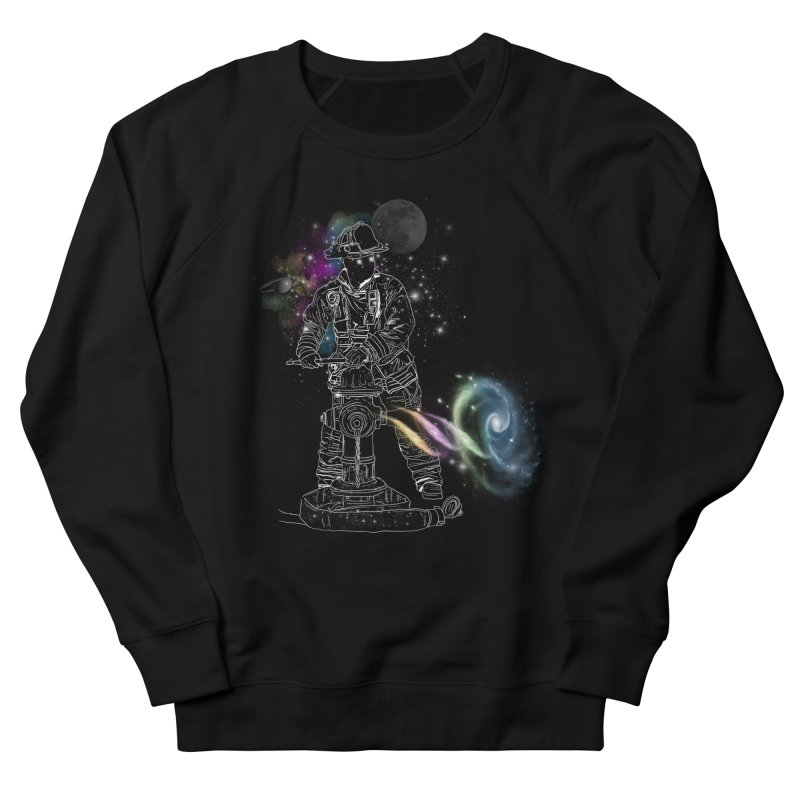 Space man Women's French Terry Sweatshirt by jackduarte's Artist Shop