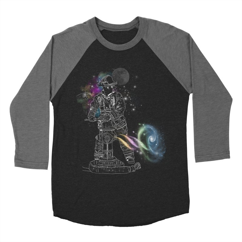 Space man Women's Baseball Triblend Longsleeve T-Shirt by jackduarte's Artist Shop