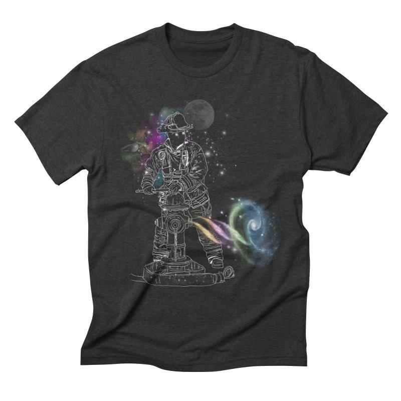 Space man Men's Triblend T-shirt by jackduarte's Artist Shop